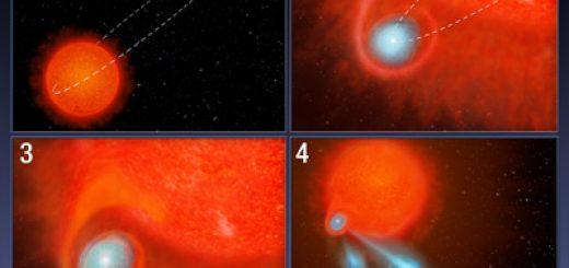 Boule de plasma dans l'espace
