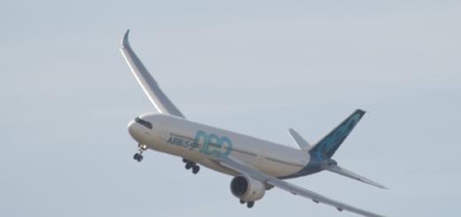 Airbus A330 Neo en tour de piste